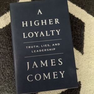 """A Higher Loyalty"" book by James Comey"
